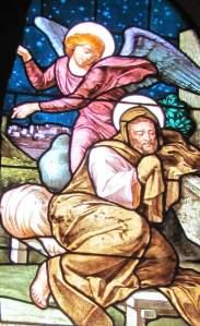 Joseph and an angel