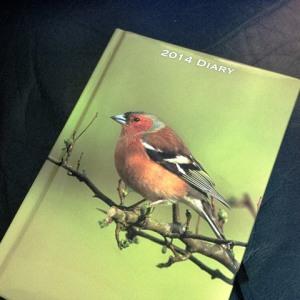 2014 diary book